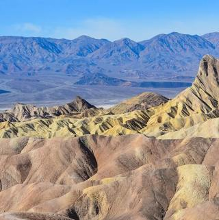 Zabrinske Point - Death Valley National Park
