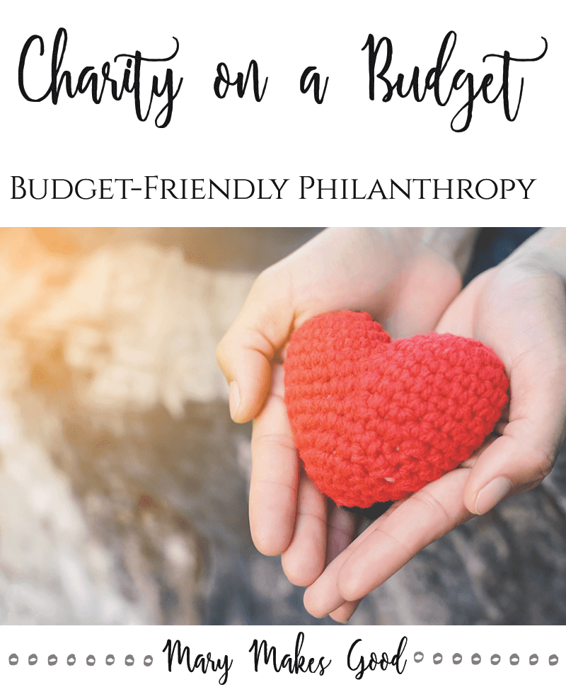 How to Give to Charity Without Money - Budget Friendly Philanthropy
