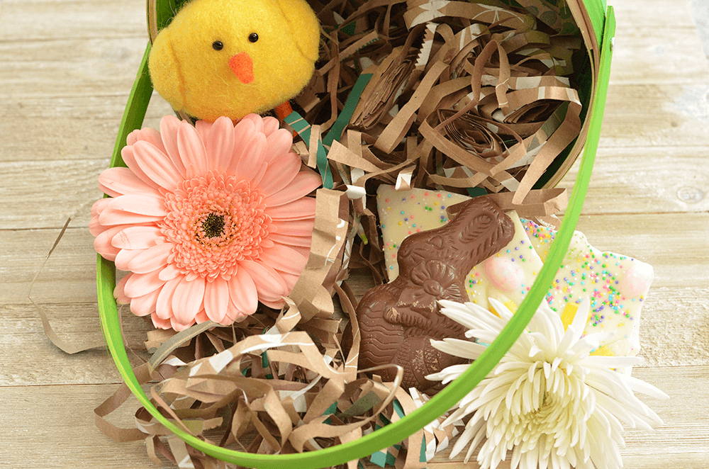 Make your own Earth-Friendly Easter Grass - A super simple project for dressing up baskets, gifts, and more.