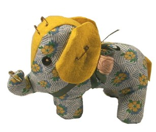 Mary Meyer Elephant Pin Cushion