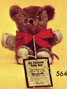 Mohair Bear – Small