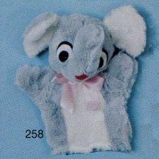 Elephant Hand Puppet – #258