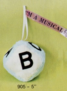 Musical ABC Block