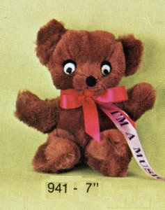 Musical Teddy Bear – Small