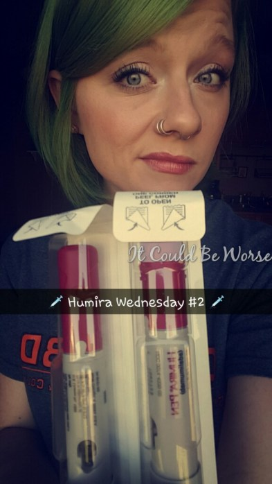 Humira Wednesday #2 - It Could Be Worse Blog