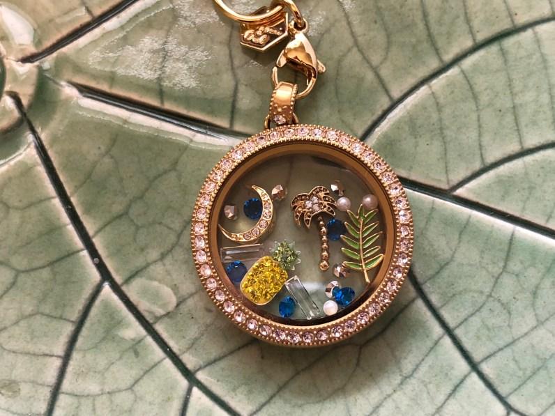Charleston theme locket