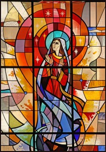 Stained glass BVM