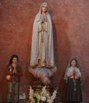 Our Lady of Fátima and the Children: Blessed Jacinta and Francisco Marto