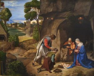 The Adoration of the Shepherds by Giorgione 1505
