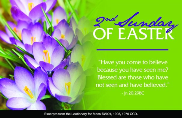 Second Sunday Easter Bulletin