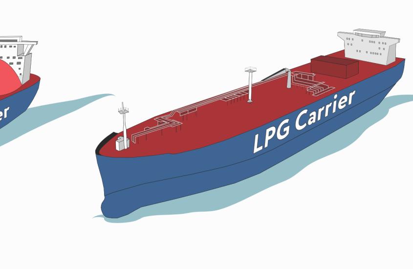 Gas Tanker Familiarisation – kurs #3 | Typy gazowców i charakterystyka