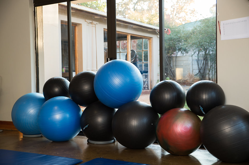 Maryna Wessels Exercises Balls