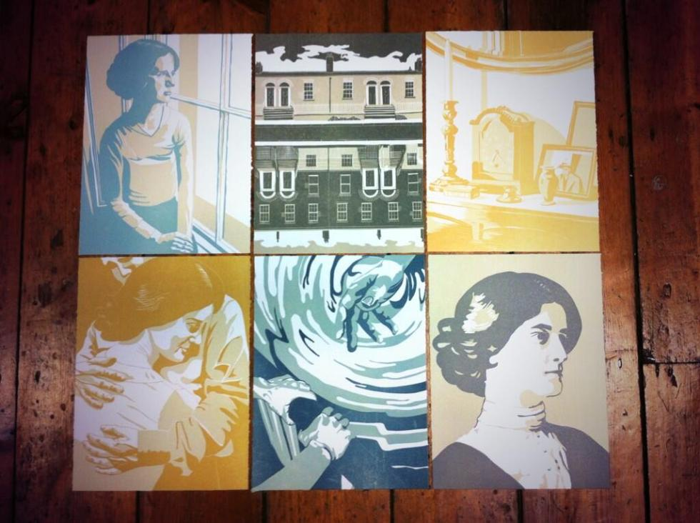 Six Linocuts