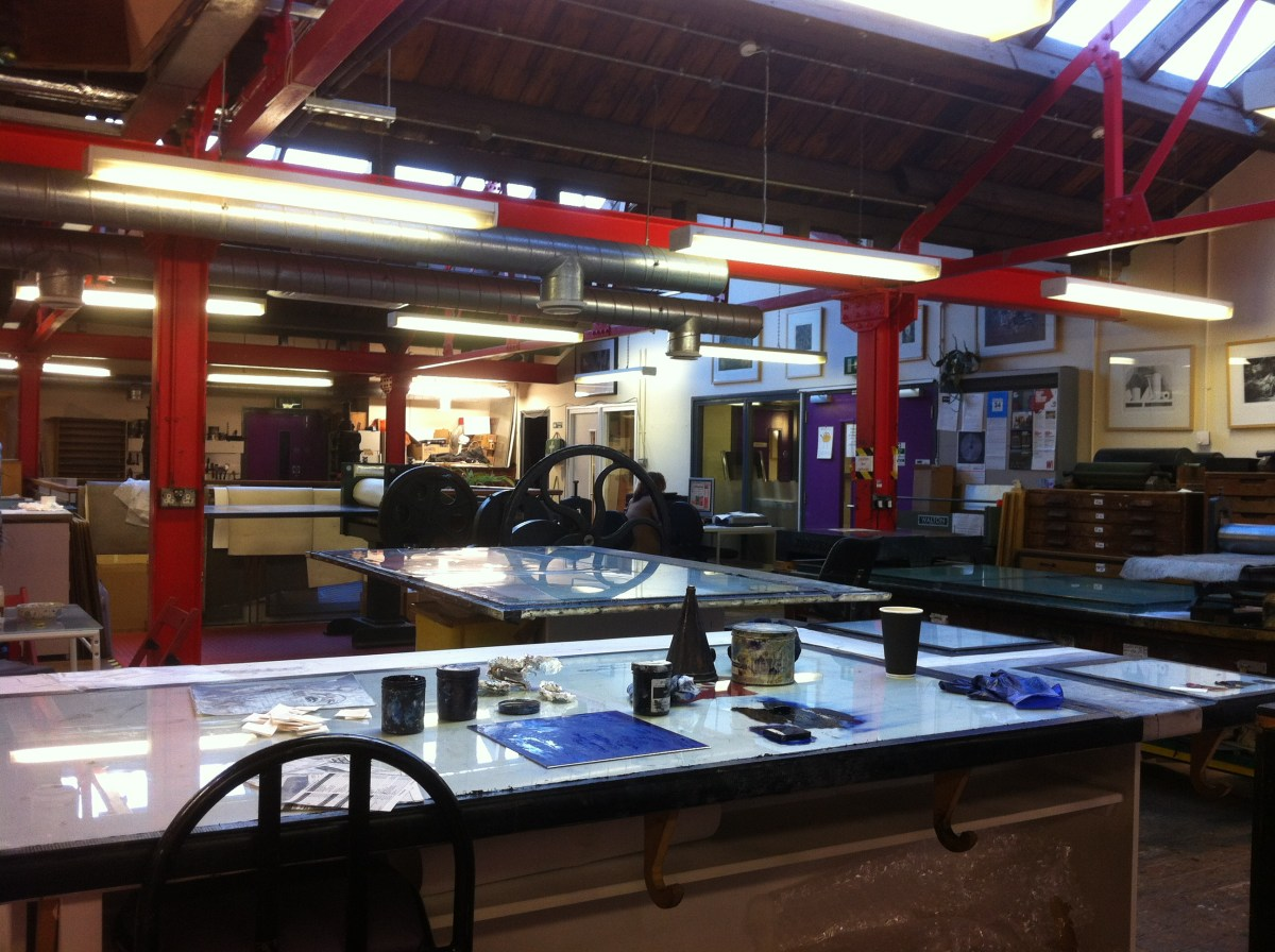 Screenprinting at Belfast Print Workshop