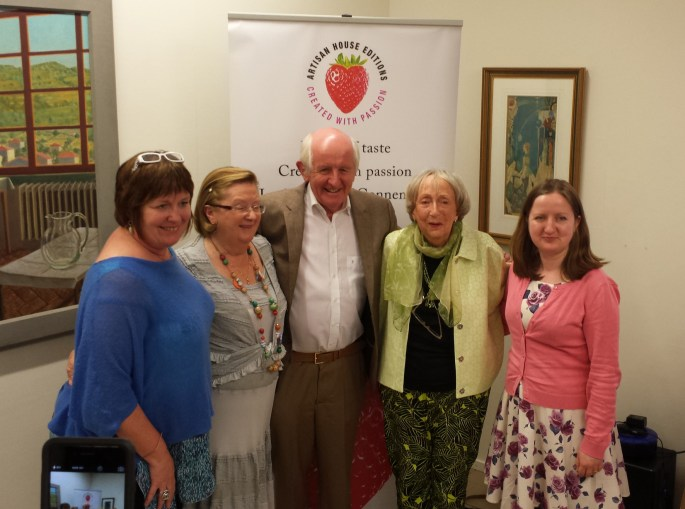 Mary Ruddy of Artisan House, Joan Mc Breen, Des Kavanagh, Margaret Irwin West and Mary Plunkett