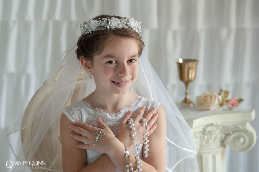 Communion Photography in New Jersey