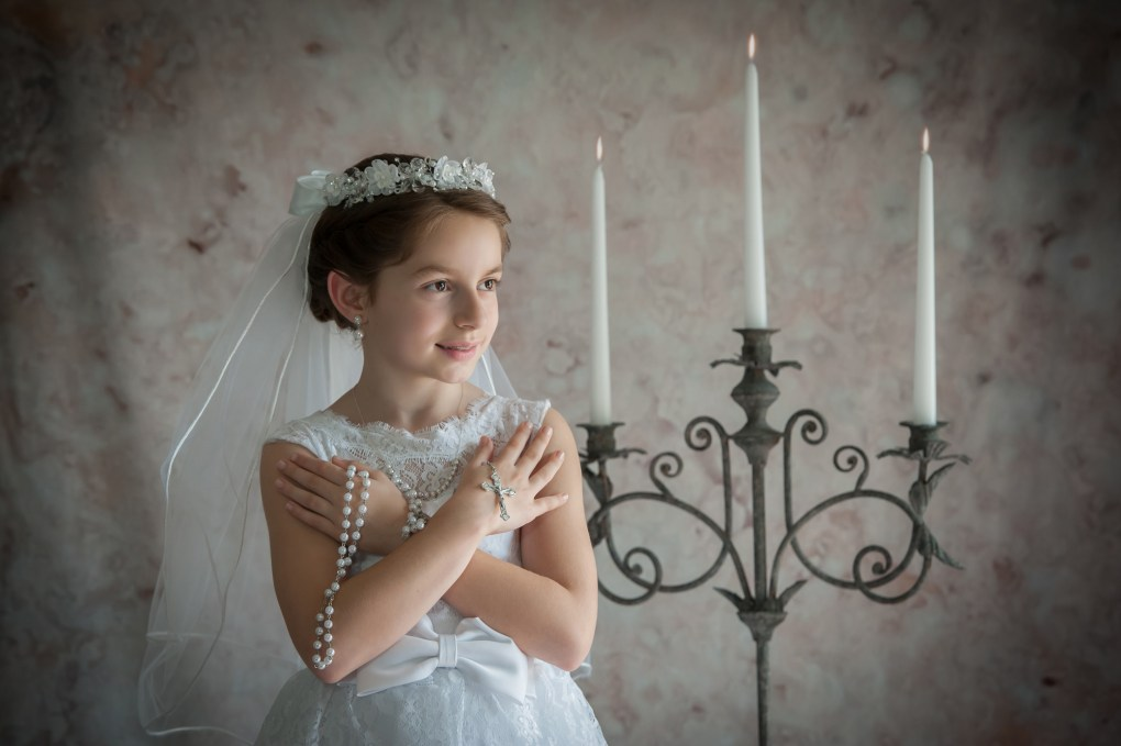 Communion Photography in South Jersey