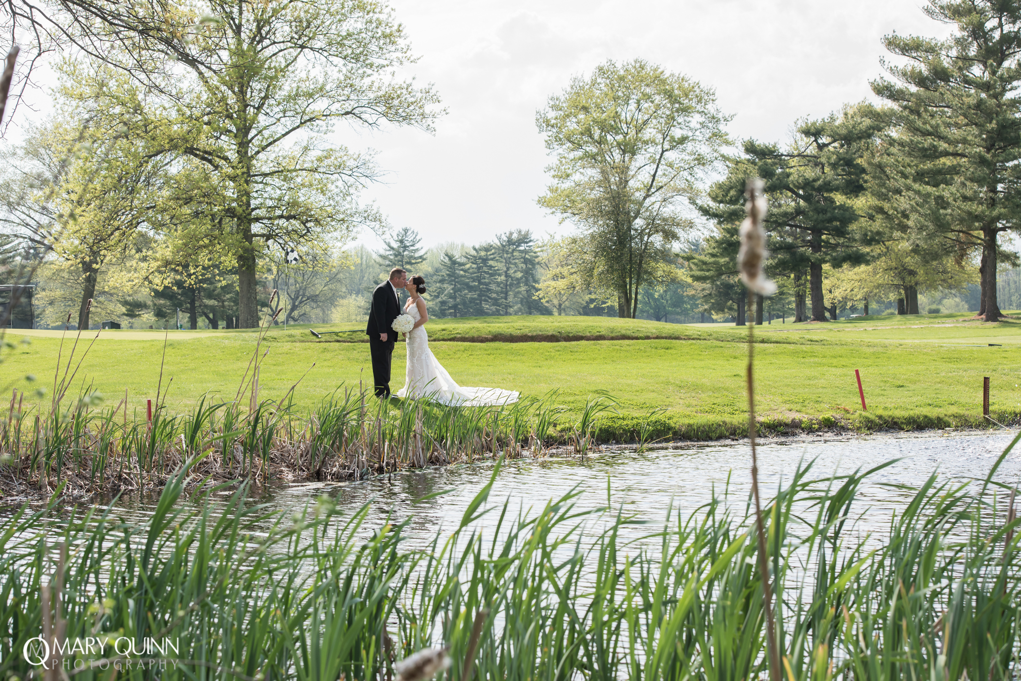Wedding Photo at Indian Spring Country Club