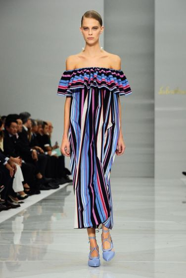 Milan Fashion Week Spring/Summer 2016 - Salvatore Ferragamo - Catwalk Featuring: Model Where: Milan, Italy When: 27 Sep 2015 Credit: KIKA/WENN.com **Only available for publication in UK, Germany, Austria, Switzerland, USA**