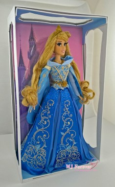 """Limited Edition 17"""" Princess Aurora Doll in Blue Dress (limit to 4000)"""