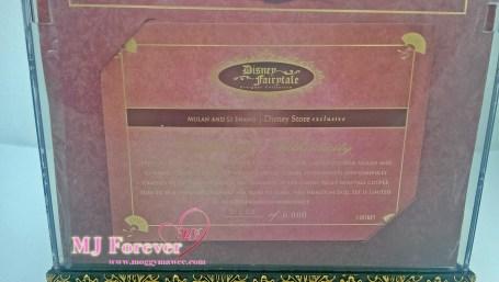 Limited Disney Fairytale Designer Collection - Mulan & Li Shang dolls