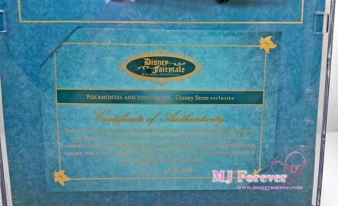Disney Fairytale Designer Collection - Pocahontas & John Smith dolls
