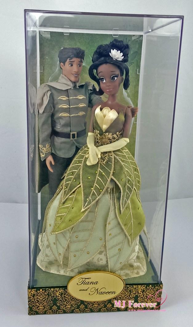 Disney Fairytale Designer Collection - Tiana & Prince Naveen dolls