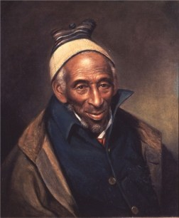 Portrait of Yarrow Mamout by Charles William Peale