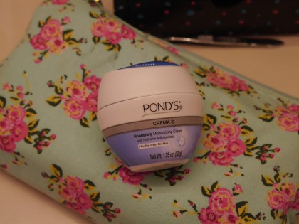 A moisturizing cream, as far as it goes, it's nice but fairly heavy on my skin. It's good at night so it has a good amount of time to sink into my skin.