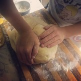 more kneading...