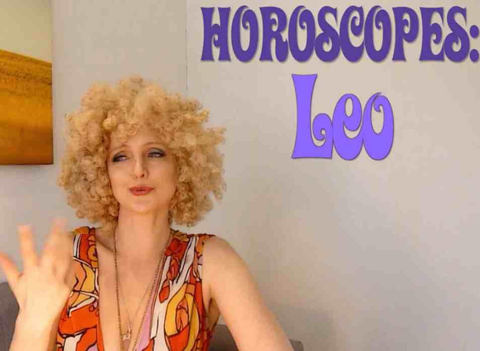 horoscope leo singing psychic