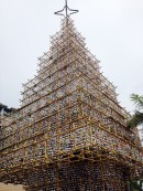 Bamboo Christmas tree