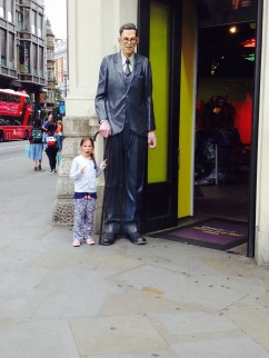 How tall is he?