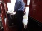 Making Buutz on the train