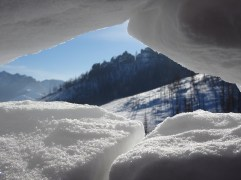 View from our igloo.