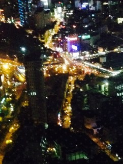 The view 52 floors up.