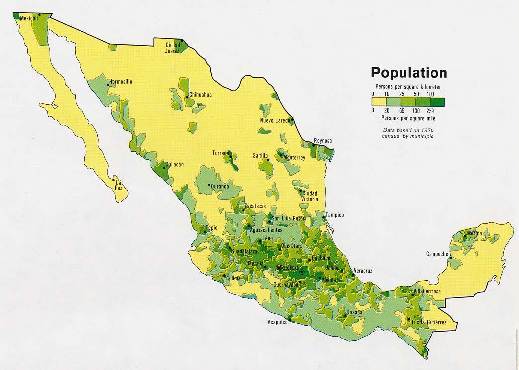 Map Aztec Empire Mexico