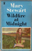 Wildfire at Midnight, Hodder paperback 8th impression, 1969. Illustrator unknown