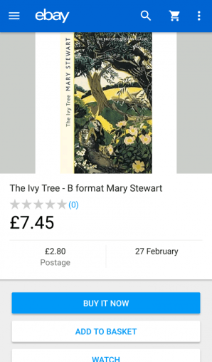 The Ivy Tree book cover on eBay.co.uk
