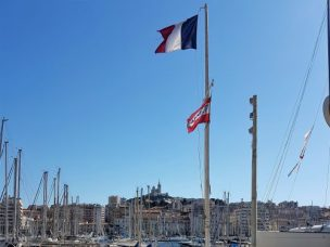 Vieux Port bristling with masts