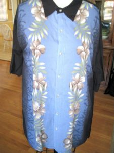 Hawaiian Shirt Refashion1