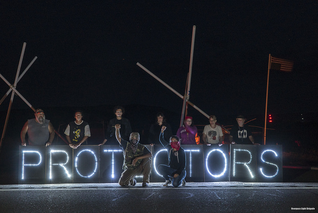 Dakota Pipeline Part 4: Protest on the prairie