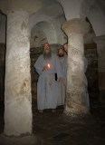 The very ancient crypt in St. Wynstan's Church