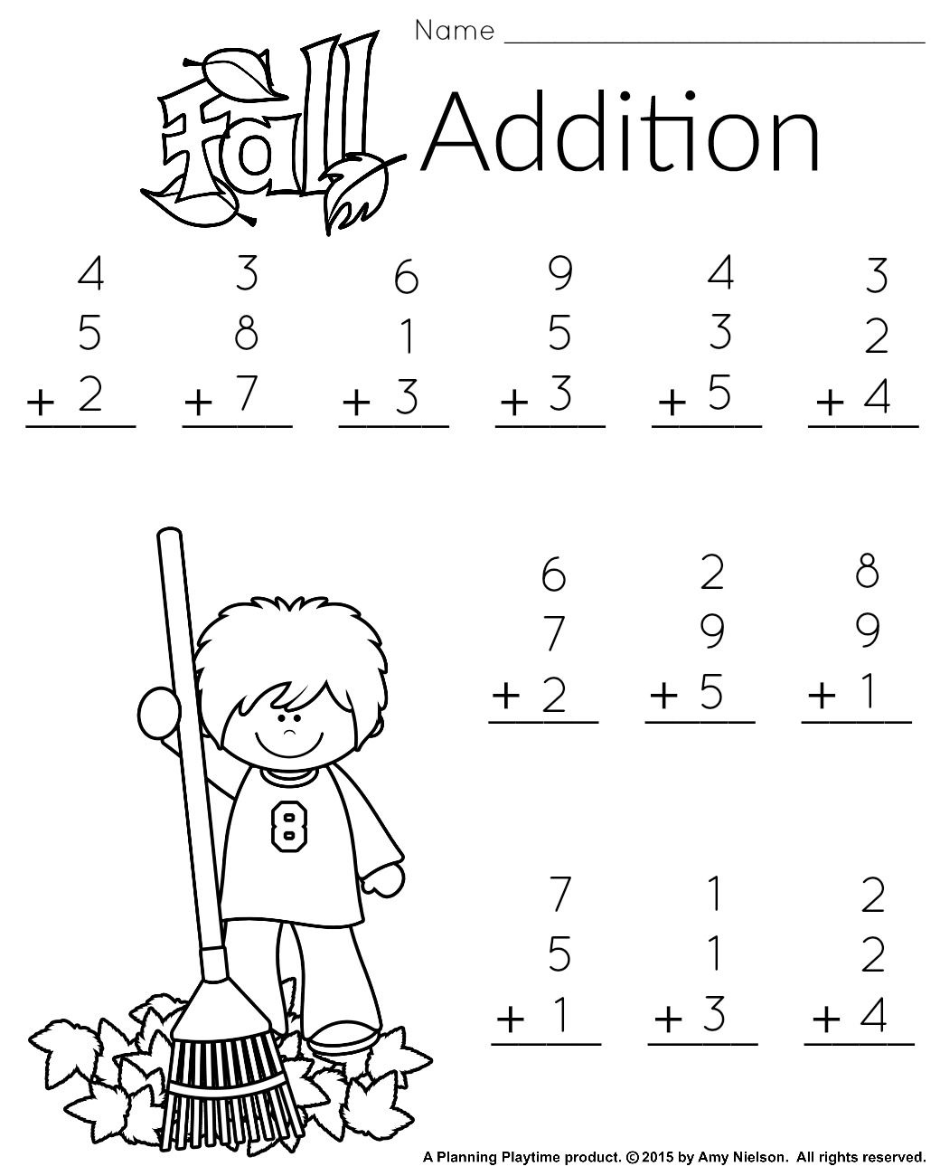 Free Printable First Grade Math Worksheets