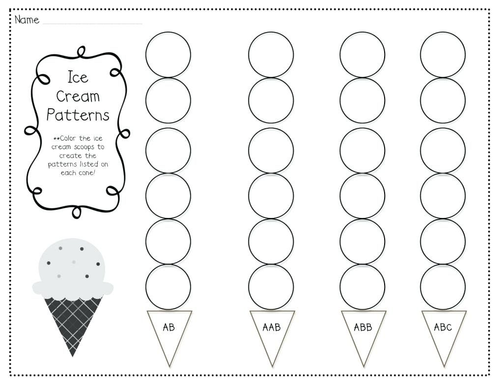 Abc Pattern Worksheets Interesting Connect The Dots