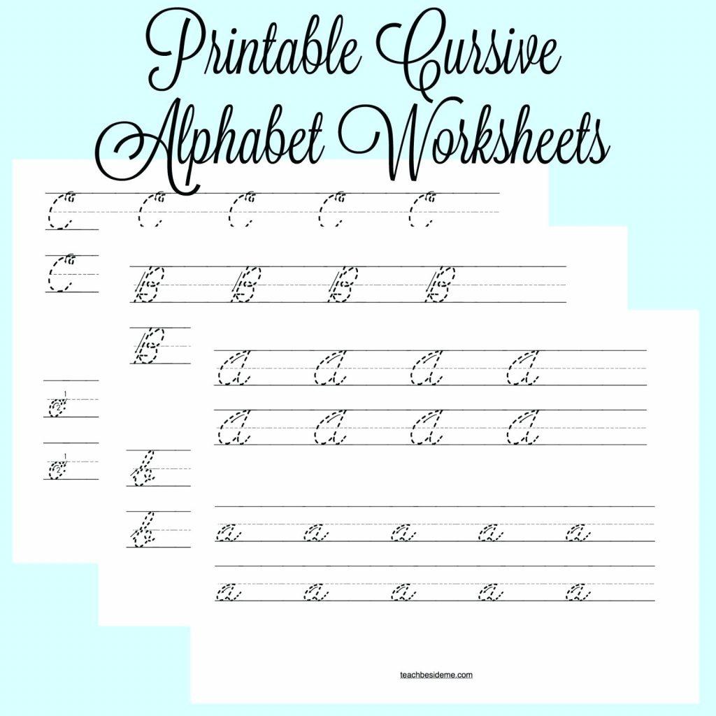 Cursive Writing Alphabets Worksheets Shoppingfoormeub