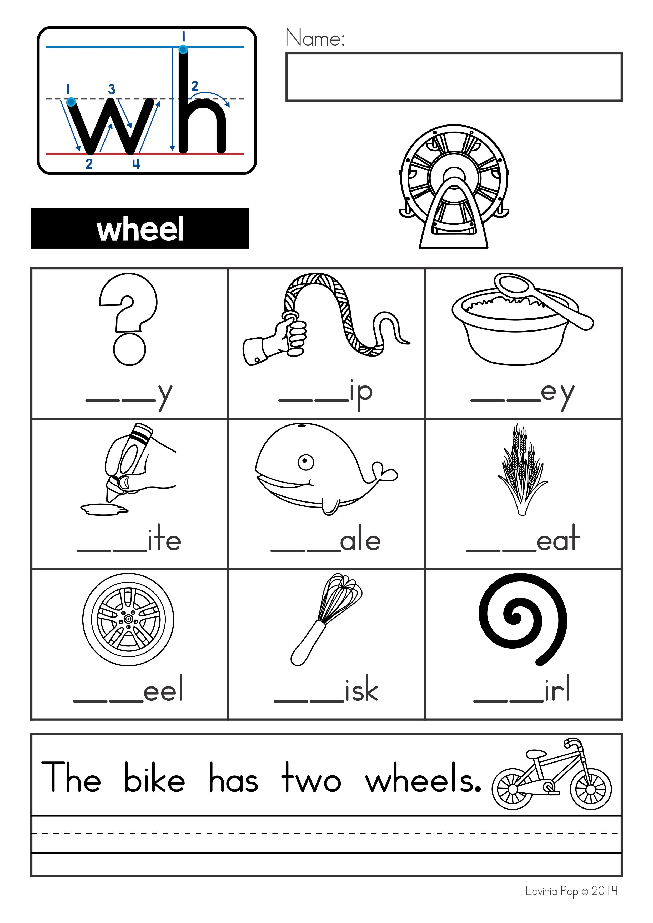 Second Grade Phonics Worksheets