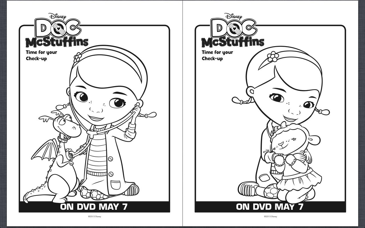 Doc Mcstuffins Printable Worksheets