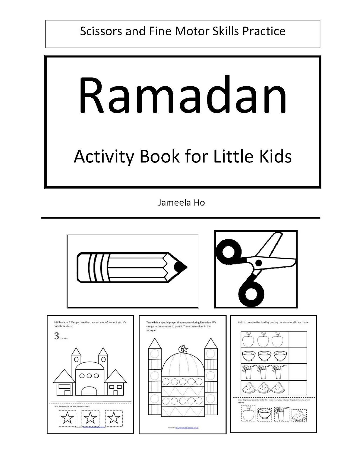Ilma Education Free Download Ramadan Activity Book For