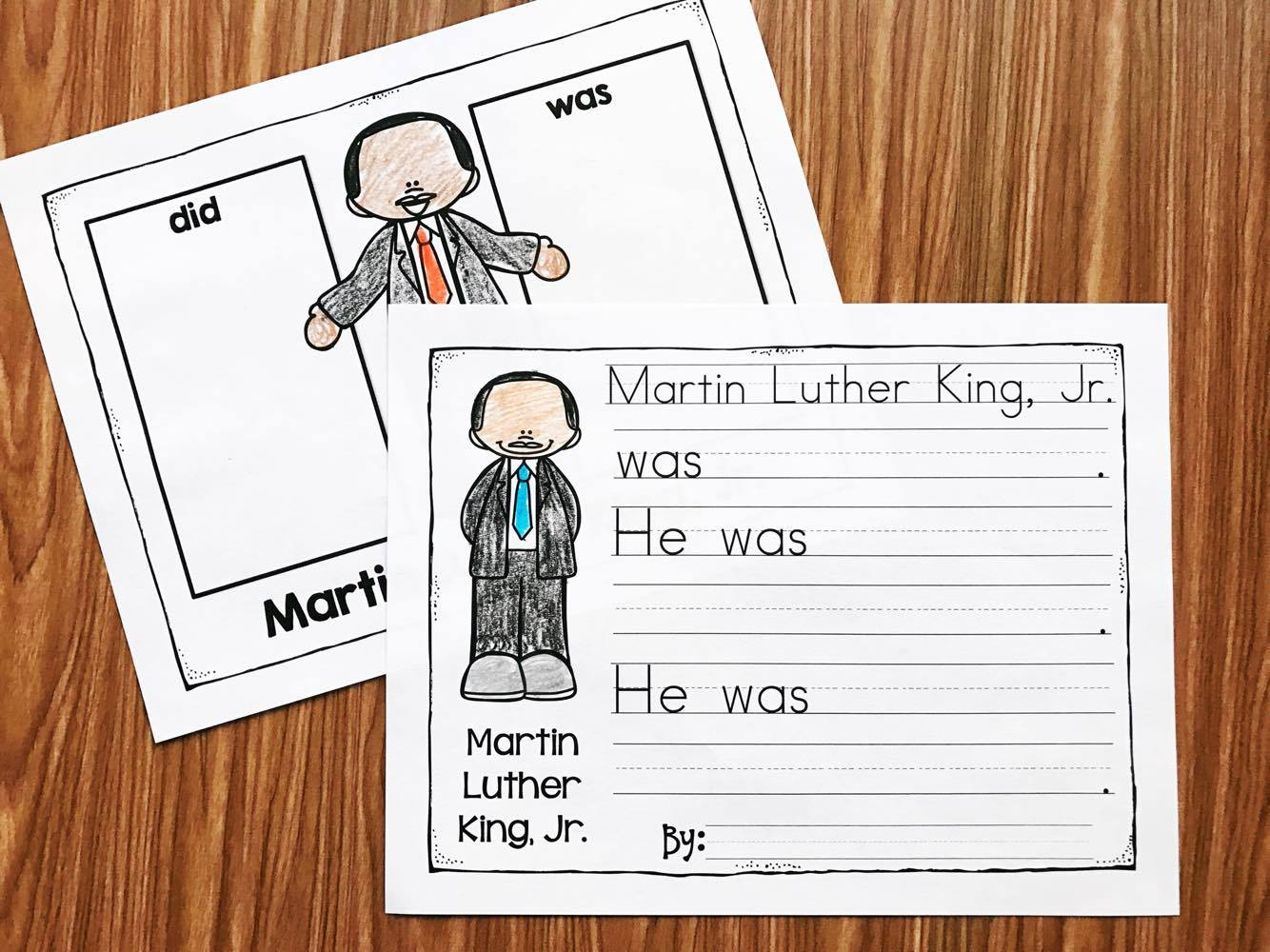 Free Printable Martin Luther King Worksheets For